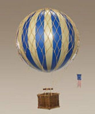 (new) Travels Light Hot Air Balloon Model Blue From Authentic Models - Fre