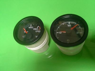 Mgtf Le500 Black Faced Time Clock & Oil Transfers Genuine Mg  Gt Mg Spares Ltd