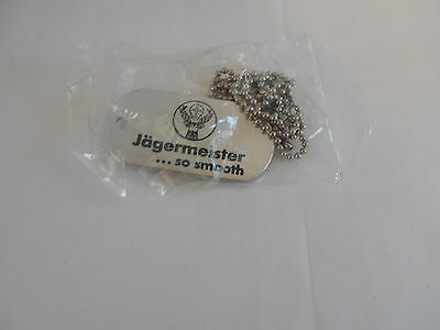 2 Jagermeister ...so smooth Dog Tag necklaces  MC23