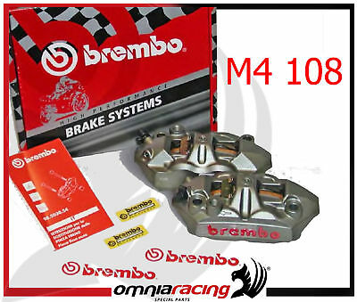 Brembo 220A39710 Radial Front Brake Calipers M4 108 mm for Suzuki GSXR GSX-R