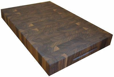 "Walnut End Grain 2"" Cutting Board Butcher Block USA"