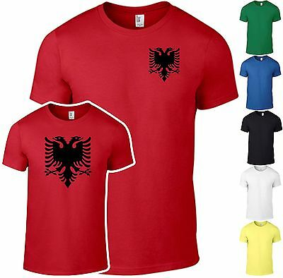 T-Shirt Albanien Tirana EM WM Fussball Shirt Fun