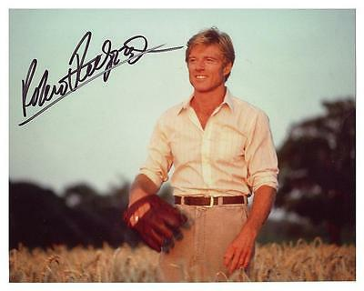 ROBERT REDFORD as THE NATURAL AUTOGRAPHED 8 X 10 PHOTO REPRINT ( FREE SHIPPING)*