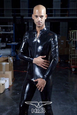 Rubber Latex Gummi Full Body Suit with Zip  NEU Gay