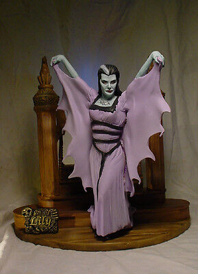"LILY MUNSTER 9"" STATUE w STAIRCASE Professional Build & Paint Fairbanks"