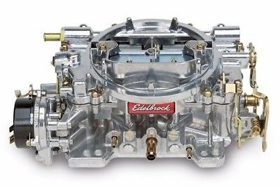 Edelbrock 1406 600 CFM Satin Finish Electric Choke Performer Carb Carburetor