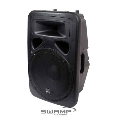 "SWAMP 15"" Powered PA Speaker Active Foldback Monitor - Bi-Amped 200W + 50W RMS"