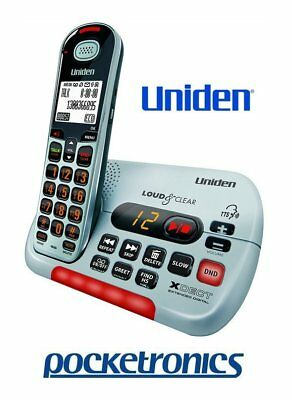 Uniden SSE35 Visual & Hearing Impaired Cordless Phone Extra Loud Big Keys NEW