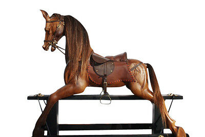 Hand Carved Rocking Horse