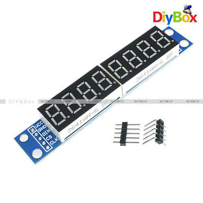 For Arduino MAX7219 LED Dot Matrix 8-Digit Digital Tube Display Control NEW D