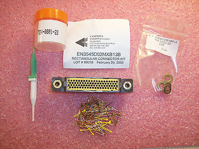 En3545D02Mxb13B Cantwell 78 Position Rectangular Connector Kit W/ Pin Contacts