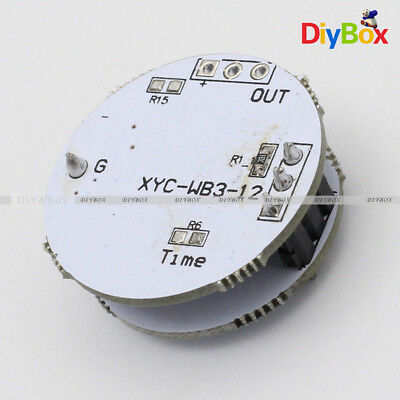 LED Microwave Radar Sensor for 3-12W Spherical Lamp Smart Switch 3.3-20V DC D
