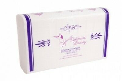 Elyse Lux-4456 Optimum Paper Hand Towels - Luxurious Texture - Carton (20 Pks)