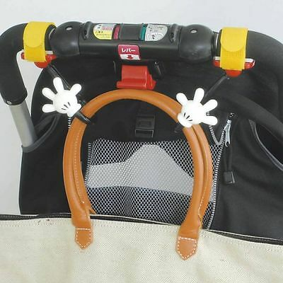 New DISNEY Mickey Mouse Baby Stroller handbag hook bag hanger holder