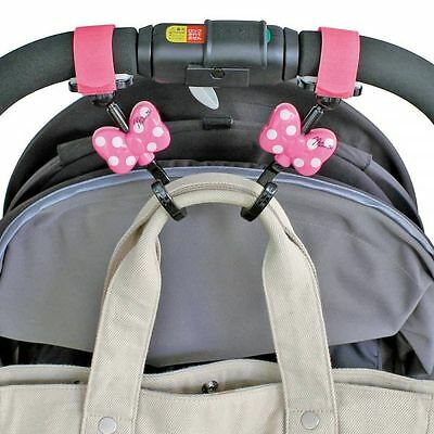 New DISNEY Minnie Mouse Baby Stroller handbag hook bag hanger holder