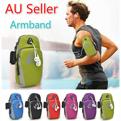 Outdoor Running Cycling Sport Armband Pouch Fitness Key Phone Case Wallet Wrist