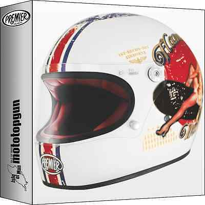 HELMET FULL FACE PREMIER TROPHY PIN UP 8 BM size L