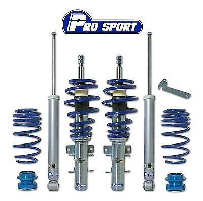 Vw Polo 9N 9N3 Coilovers - Adjustable Coilover Suspension Lowering Kit