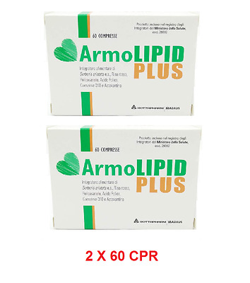 Armolipid Plus 60 Compresse Offerta Saldi 2 Confezioni Totale 120 Cpr