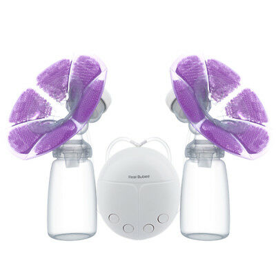 Double Side Electric Breast Pump Set Fast Sucking Massage Milker Fedding