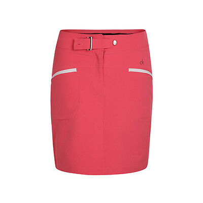 Calvin Klein Ladies Golf Solid Skort - 2 Colours Available