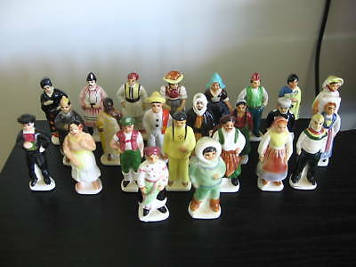 VTG Tenderleaf Tea People of Many Lands Figurines