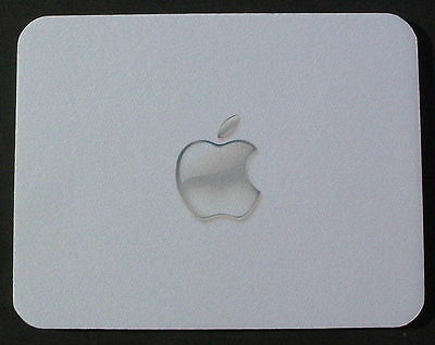 """""""CLEAR APPLE"""" print MOUSEMAT MOUSE MAT PAD compatible with Mac iMac MacBook Pro"""