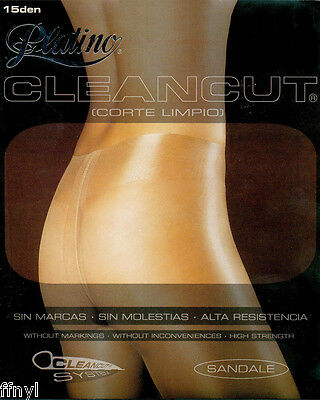 Platino CLEANCUT 15d Tights / Pantyhose - 5 Colours / 5 Sizes