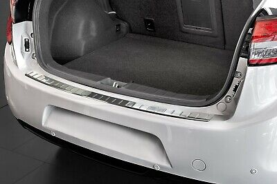 Stainless Steel Boot Edge Protector compatible with Citroen C4 Aircross BUILT