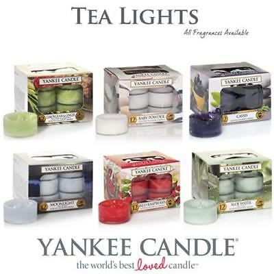 Yankee Candle Scented Tea Lights All Fragrances & FREE POSTAGE