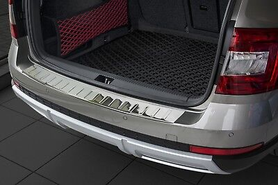 Door Sill and Loading Area Protector Fits For Skoda Octavia 3 Scout Built 2014
