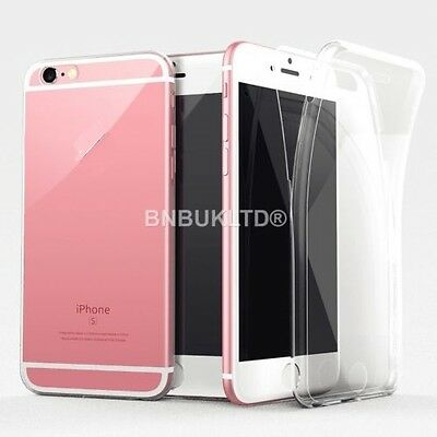 Transparent Clear Silicone Ultra Slim Gel Case and Screen Protector for Mobiles