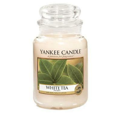 Yankee Candle White Tea Large Jar Scented Candle