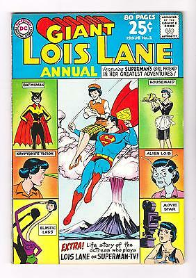 LOIS LANE ANNUAL 2 - 80pg GIANT (VF/NM)  (FREE SHIPPING with BIN) *