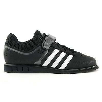 Adidas Men's Powerlift 2.0 Black/White Gym Lifter Shoes S77952 NEW!