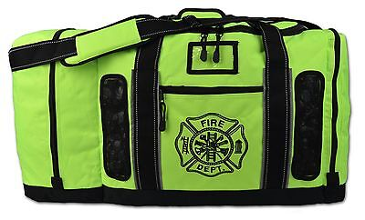Lightning X Firefighter Quad-vent Turnout Gear Bag w/ Helmet Compartment LXFB45Y