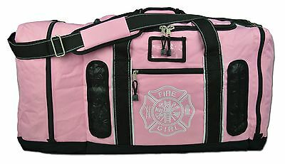 Lightning X Firefighter Quad-vent Turnout Gear Bag w/ Helmet Compartment LXFB45P