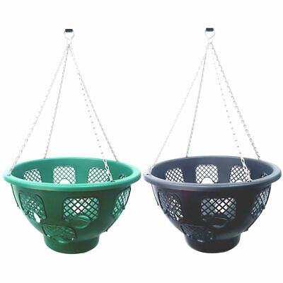 Plantopia Flower Tower Easy Fill 2-Tier Pedestal Stand With 2 Easy Fill Baskets