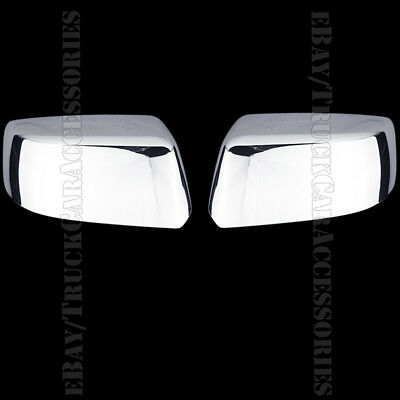 For CHEVY Suburban LS/LT/LTZ 2015 2016 Chrome Top Half Mirror Mirrors Covers USA