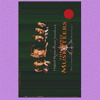 """O.s.t. """" The Three Musketeers """" Musicassetta Nuova A&m"""