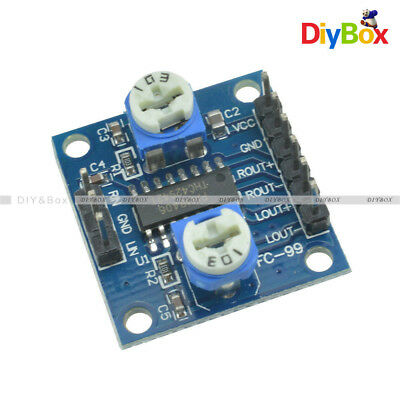PAM8406 Digital Amplifier Board With Volume Potentiometer 5Wx2 Stereo M70 D