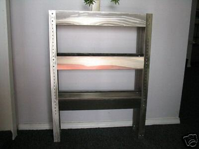 "Carpet Cleaning 48"" S/S 3-Tier Chemical Shelf"
