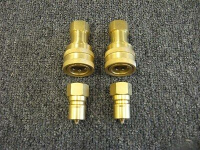 "Set of 3/8"" Brass Quick Disconnects, Set of 2"