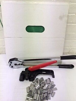 "Mini Polyester Strapping Kit 5/8"" x .040""+seals + tools"