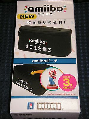 NEW Hori Nintendo Official License Carrying Pouch Case for Amiibo Figure JAPAN