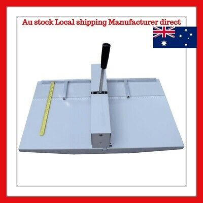 "Manual 18"" 460MM Paper Scoring Creasing Machine Scorer Creaser"