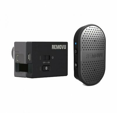Removu M1+A1 Waterproof Bluetooth Microphone & Audio Pack for GoPro HERO cameras