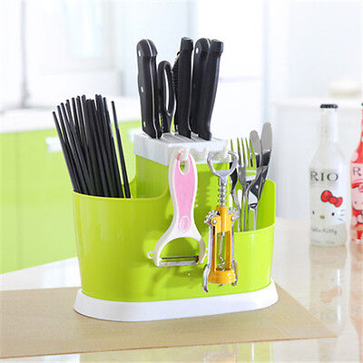 Kitchen Knives Cutlery Flatware Chopsticks  Storage Stand Organizer New Arrival