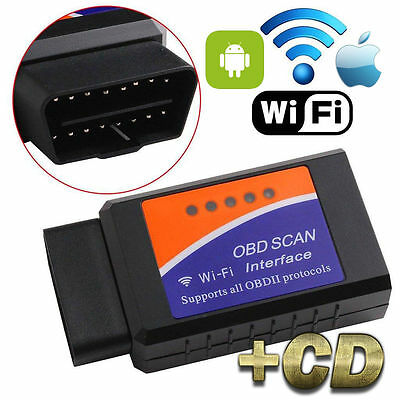 Odb-Ii Elm327 Auto Moto Diagnostica Reset Scanner Wifi Obd2 Ios Android Samsung
