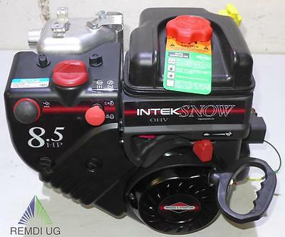 Schneefräsen Motor Briggs & Stratton ca. 8,5 HP INTEK 19,05/65 E-Start 2 Wellen